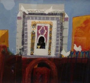 Marrakesh Niche by Christine Woodside 38x36 cms